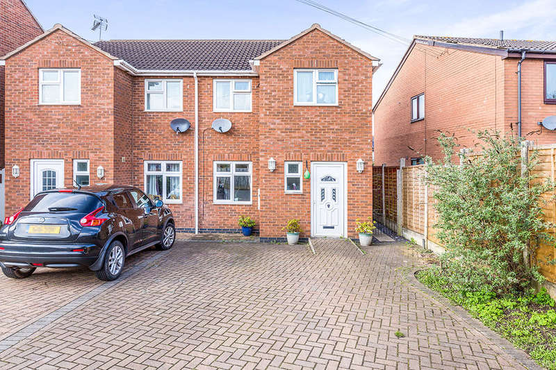 3 Bedrooms Semi Detached House for sale in John Nichols Street, Hinckley, LE10