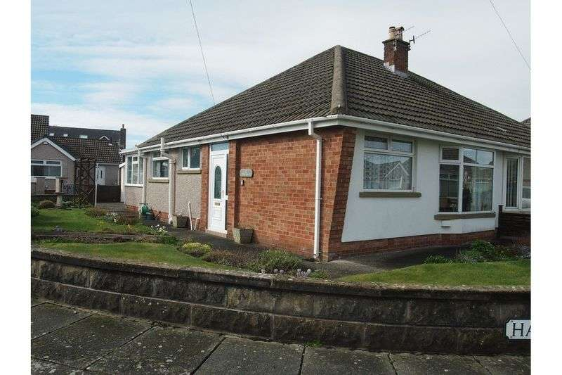 2 Bedrooms Semi Detached Bungalow for sale in Pinewood Avenue, Bare, Morecambe