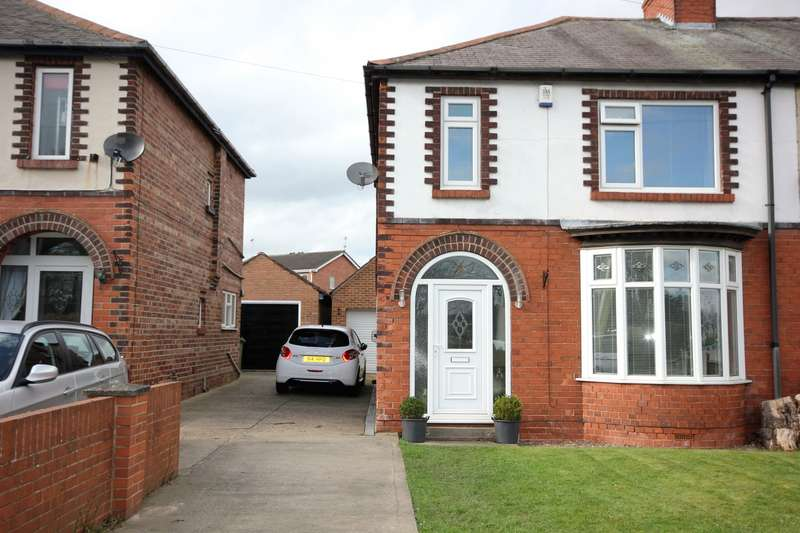 3 Bedrooms Semi Detached House for sale in Mansfield Road, Worksop, S80