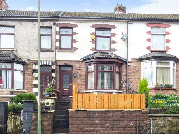 3 Bedrooms Terraced House for sale in Bailey Street, Deri, Bargoed, Caerphilly