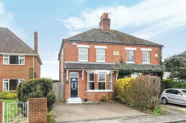 3 Bedrooms Semi Detached House for sale in Aylesford Villas, HURST, Berkshire