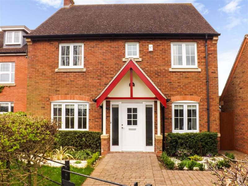 4 Bedrooms Detached House for sale in Burnaston Way, Loughborough