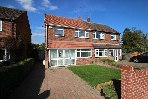 3 Bedrooms Semi Detached House for sale in Brinklow Road, Binley, Coventry