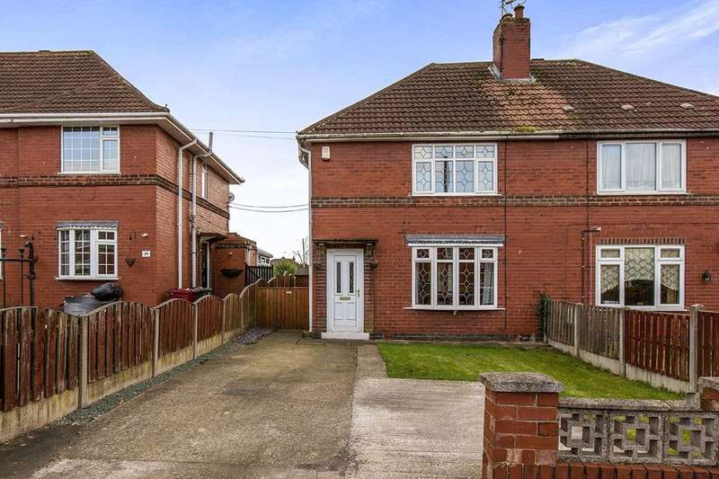 3 Bedrooms Semi Detached House for sale in Park Avenue, Glapwell, Chesterfield, S44