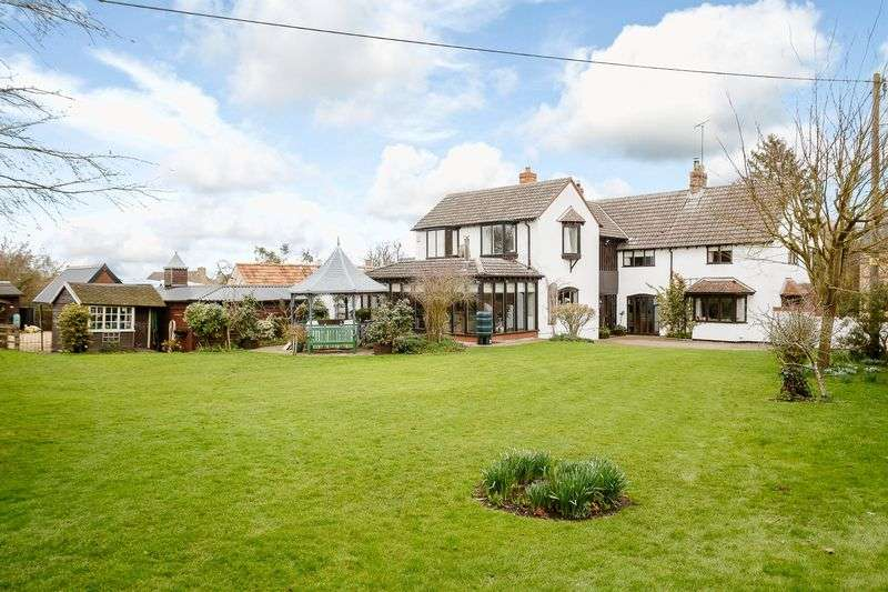 4 Bedrooms Detached House for sale in Lutton, Peterborough