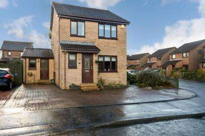 3 Bedrooms Detached House for sale in Robertson Way, Livingston