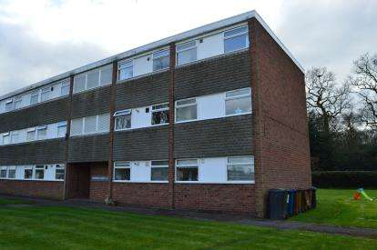 2 Bedrooms Flat for sale in Rookery Court, Leomansley View, Lichfield