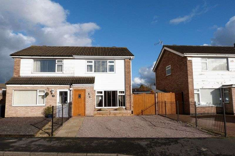 3 Bedrooms Semi Detached House for sale in Ling Dale, East Goscote