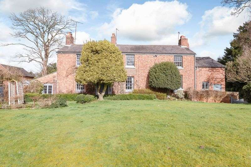 5 Bedrooms Detached House for sale in Great Barrow, Nr. Chester