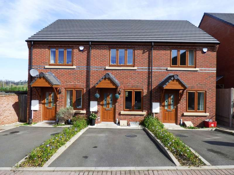 2 Bedrooms Terraced House for sale in Canberra Mews, Leamington Spa