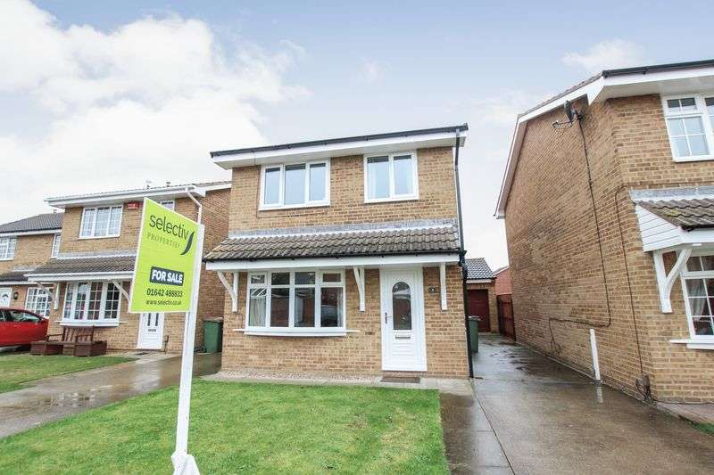 3 Bedrooms Detached House for sale in Scalby Grove, The Ings, Redcar