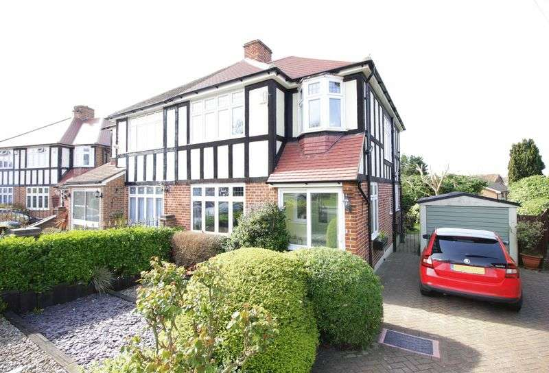 3 Bedrooms Semi Detached House for sale in West Hallowes, London, SE9 4EX