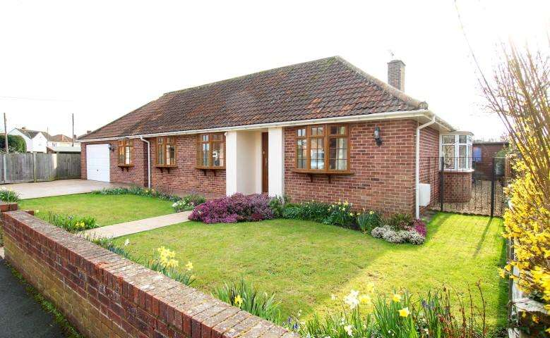 4 Bedrooms Detached Bungalow for sale in Oakfield Road, Bridgwater TA6