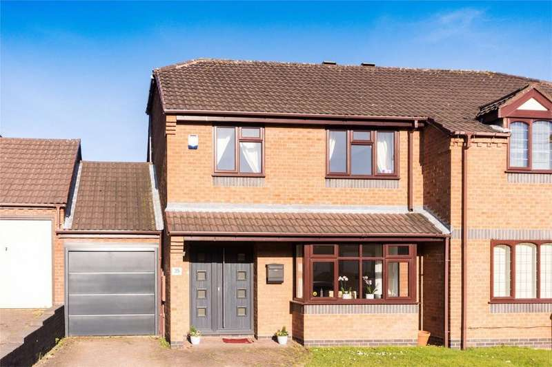 3 Bedrooms Semi Detached House for sale in Field Road, Lichfield, Staffordshire