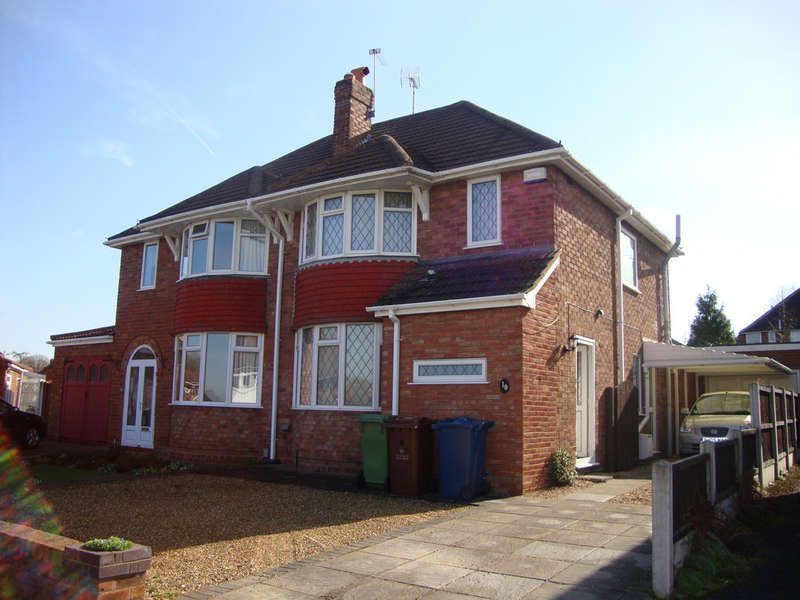 3 Bedrooms Semi Detached House for sale in Marlborough Avenue, Stafford