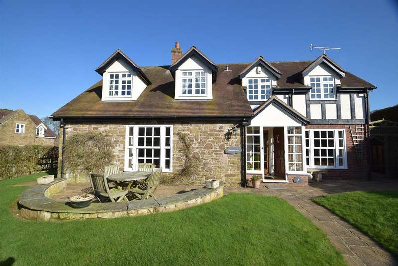 4 Bedrooms Detached House for sale in 7 St. Andrews Close, Hope Bowdler, Church Stretton SY6 7EN