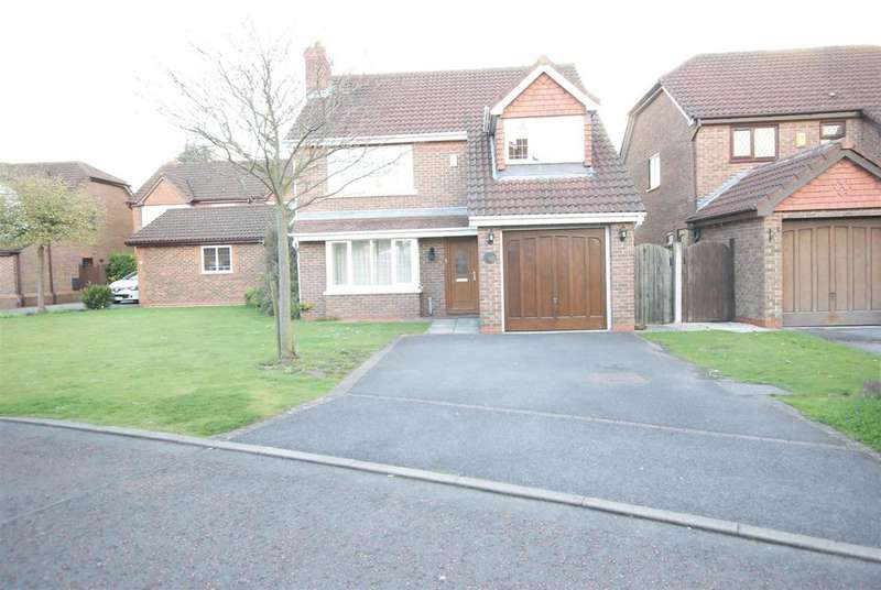 4 Bedrooms Detached House for sale in Polden Close Ledsham Park Little Sutton