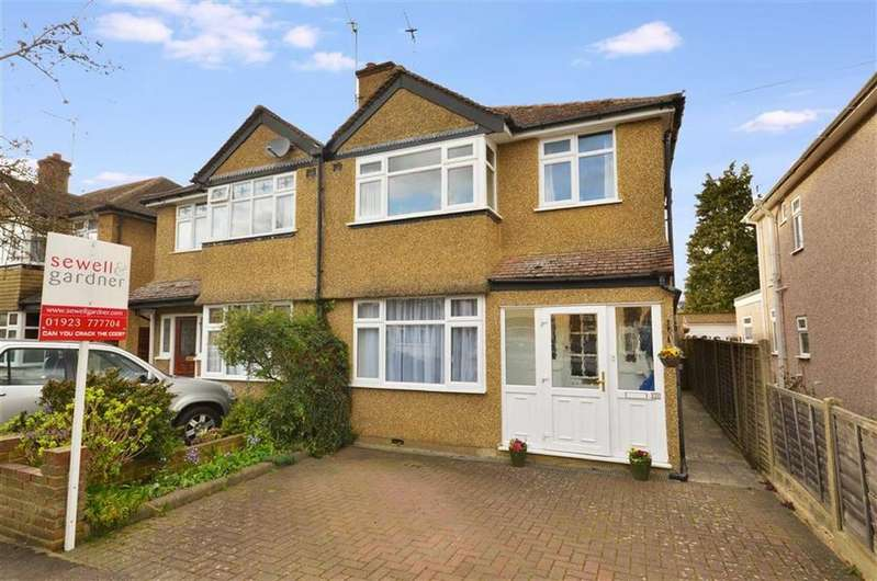 3 Bedrooms Semi Detached House for sale in Frankland Road, Croxley Green, Hertfordshire