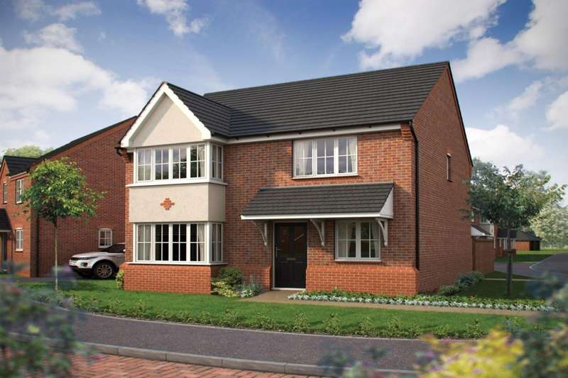 4 Bedrooms Detached House for sale in The Canterbury Iddeshale Gardens Haughton Road, Shifnal, TF11