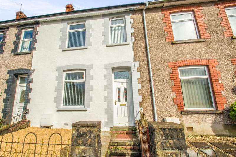 4 Bedrooms Terraced House for sale in Nant Melyn Terrace, Tonyrefail, Porth