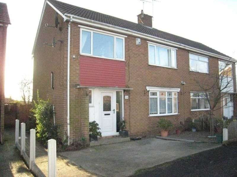 3 Bedrooms Semi Detached House for sale in Milton Road, Dinnington, Sheffield, S25