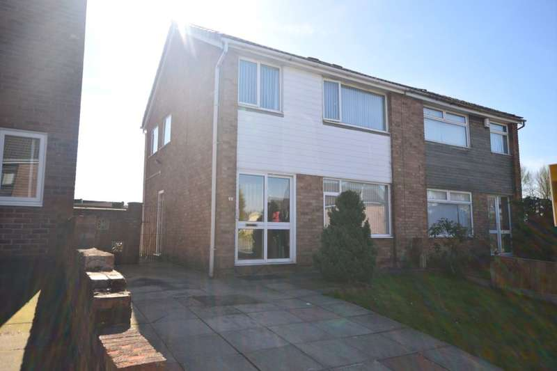 3 Bedrooms Semi Detached House for sale in Ambergate, Skelmersdale, WN8