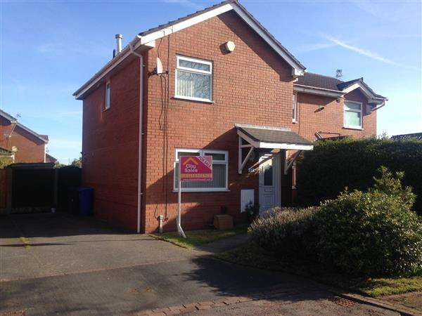 3 Bedrooms Semi Detached House for sale in Badby Close, Kirkby