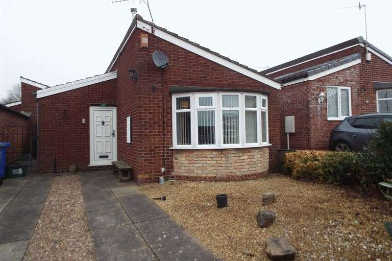 2 Bedrooms Detached Bungalow for sale in Edgar Place, Saxonfields, Stoke-On-Trent