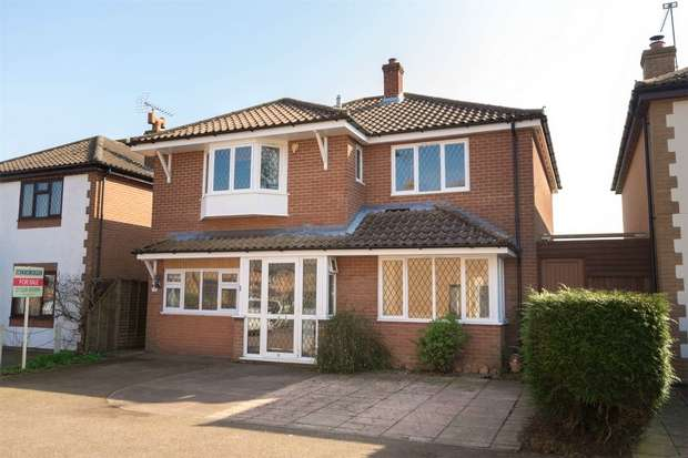 4 Bedrooms Detached House for sale in 29 Chequers Close, Briston