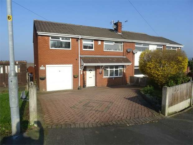 5 Bedrooms Semi Detached House for sale in High Croft Close, Dukinfield, Greater Manchester