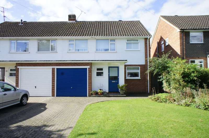 4 Bedrooms Semi Detached House for sale in The Ridgeway, Caversham
