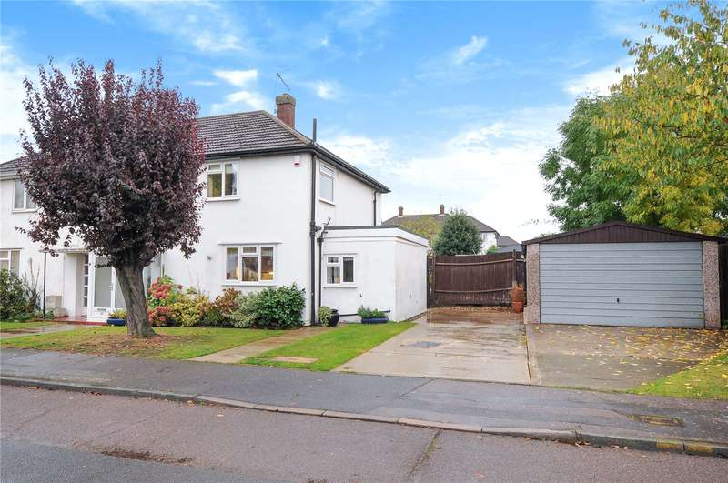 3 Bedrooms Semi Detached House for sale in Rutters Close, West Drayton, Middlesex, UB7