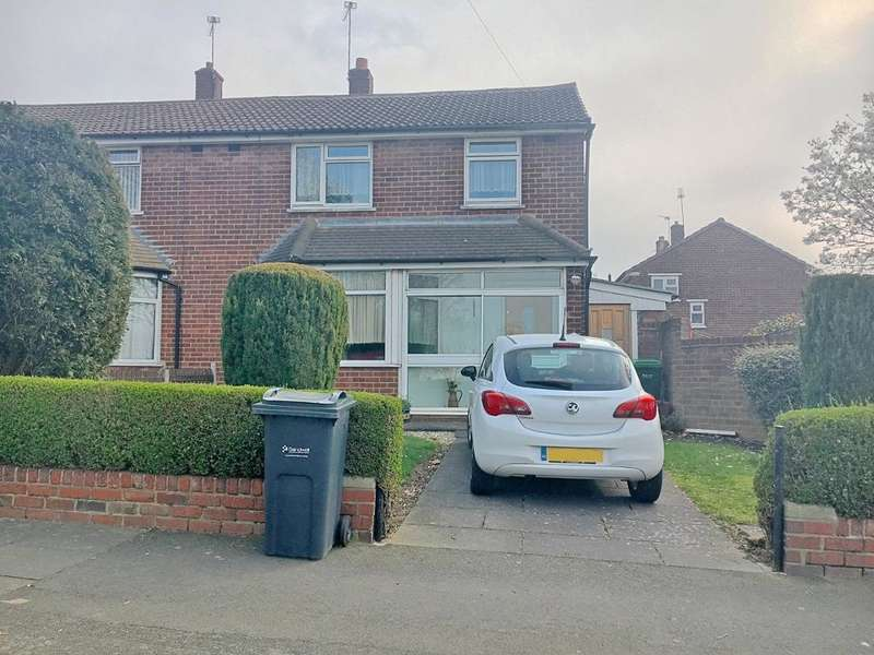 3 Bedrooms Semi Detached House for sale in LADBURY ROAD, WALSALL, WS5 4EY
