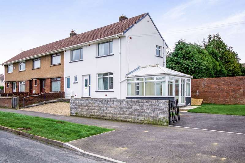 3 Bedrooms End Of Terrace House for sale in Heol Y Bryn, Sarn, Bridgend