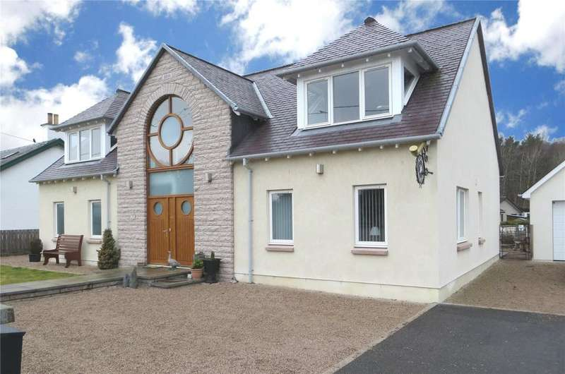 3 Bedrooms Detached House for sale in Craigdhu Road, Newtonmore, Inverness-Shire