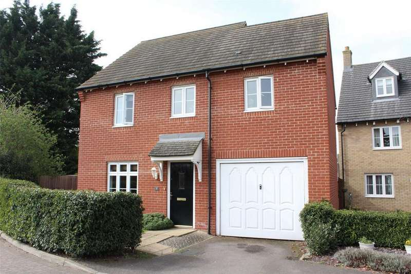 3 Bedrooms Detached House for sale in Prince Andrew Drive, Stotfold, Hitchin, Hertfordshire