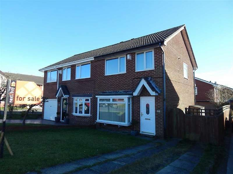 3 Bedrooms Semi Detached House for sale in Lancaster Drive, Hadrian Park, Tyne And Wear, NE28