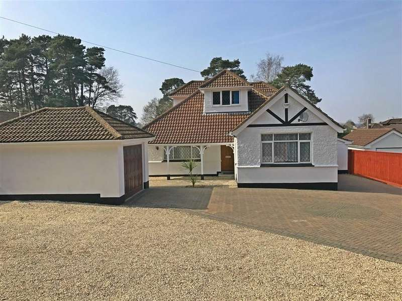 5 Bedrooms Detached Bungalow for sale in Woodside Road, Ferndown, Dorset