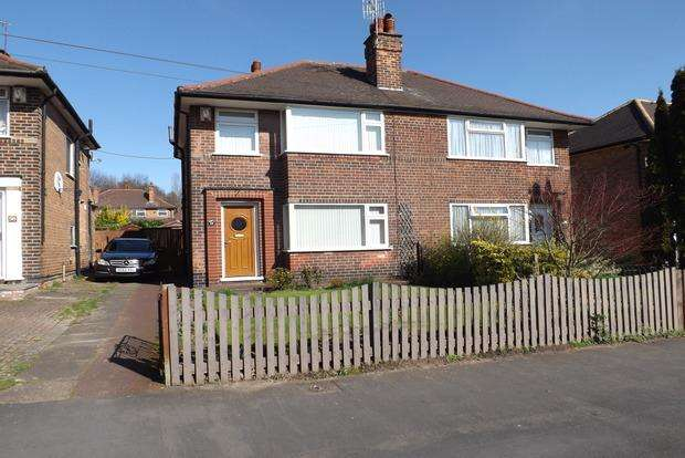3 Bedrooms Semi Detached House for sale in Barlock Road, Basford, Nottingham, NG6