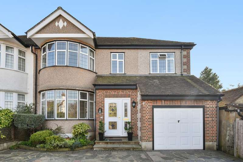 4 Bedrooms Semi Detached House for sale in Oaklands Avenue West Wickham BR4