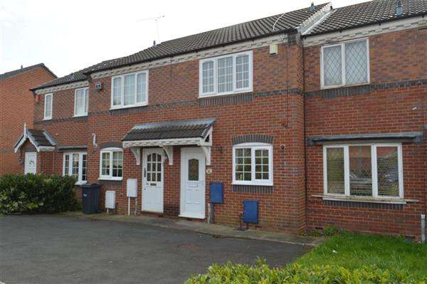 2 Bedrooms Terraced House for sale in Mistletoe Drive, Walsall