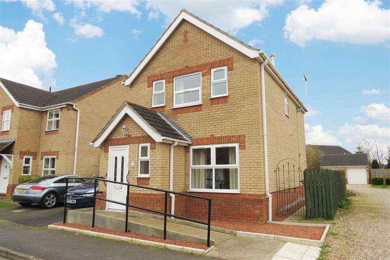 3 Bedrooms Link Detached House for sale in Russell Crescent, Sleaford