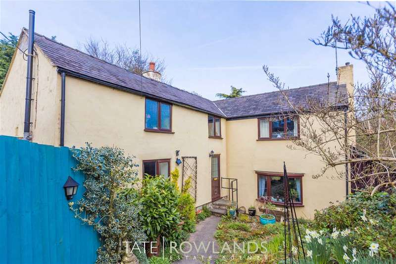 3 Bedrooms Cottage House for sale in Druid Inn Cottage, Wrexham Road, Pontblyddyn