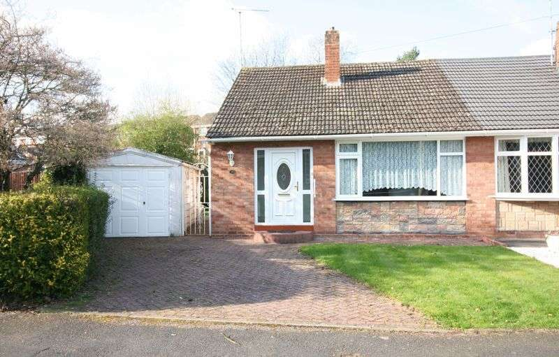 2 Bedrooms Semi Detached Bungalow for sale in KINGSWINFORD, Coniston Drive