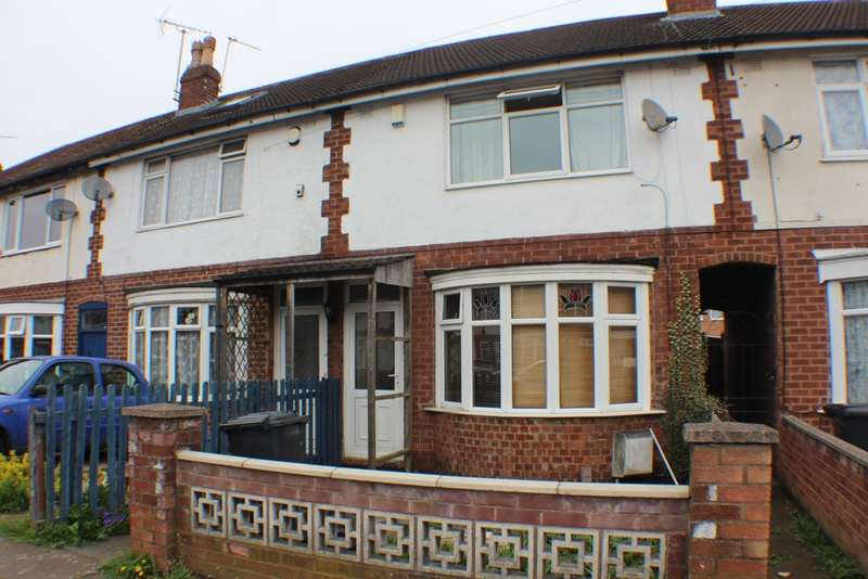 2 Bedrooms Terraced House for sale in Stockton Road, Leicester, LE4