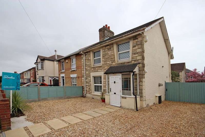 3 Bedrooms Semi Detached House for sale in Victoria Road, Bournemouth