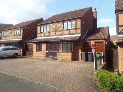 4 Bedrooms Detached House for sale in Walkers Way, Coleshill, Birmingham, Warwickshire