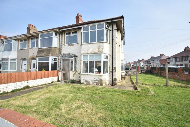 3 Bedrooms End Of Terrace House for sale in Ventnor Road, Blackpool