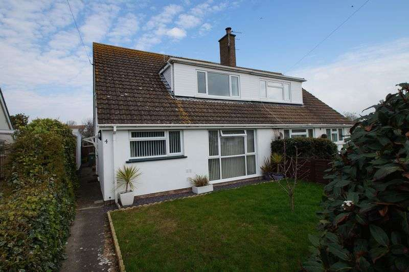 3 Bedrooms Semi Detached Bungalow for sale in Birch Lawn, Burnham-On-Sea