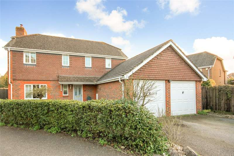 4 Bedrooms Detached House for sale in Caspian Close, Fishbourne, Chichester, West Sussex, PO18